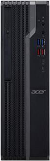 PC Systeme, Computer - Acer Veriton X4660G SFF 1 x Core i5 8400 2,8 GHz RAM 8GB SSD 256GB DVD Writer UHD Graphics 630 GigE Win 10 Pro 64 Bit Monitor keiner (DT.VR0EG.001)  - Onlineshop JACOB Elektronik