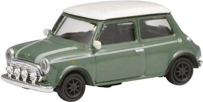 Schuco 452639200 H0 Mini Cooper, grün weiß (452639200)