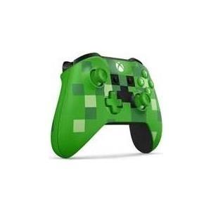 Gamingzubehör - Microsoft Xbox Wireless Controller Minecraft Creeper Game Pad drahtlos Bluetooth grün für PC, Microsoft Xbox One, Microsoft Xbox One S, Microsoft Xbox One X  - Onlineshop JACOB Elektronik