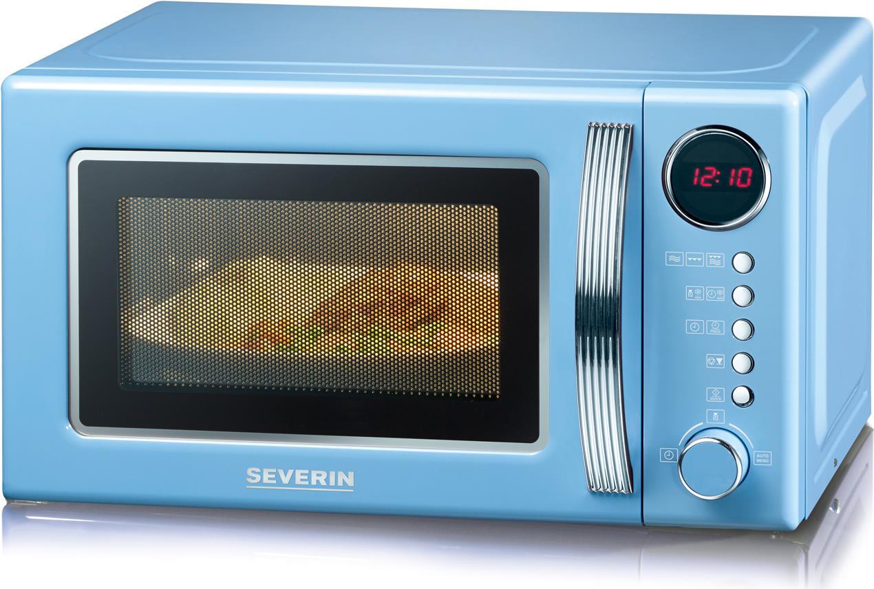 *Severin MW 7894 Eingebaut Kombi-Mikrowelle 20l 700W Blau Mikrowelle (MW7894)*