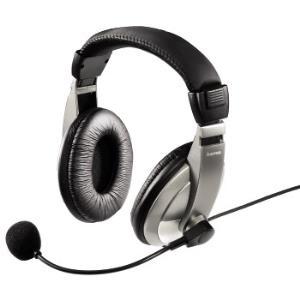 Hama PC Headset AH-100 - Headset - Full-Size - Schwarz, Silber (00053994)