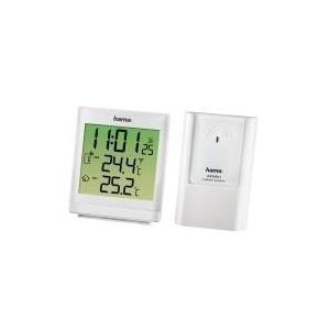 Hama EWS-870 - Wetterstation - drahtlos - weiß ...
