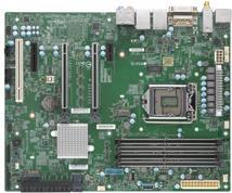 Super Micro SUPERMICRO X11SCA-W - Motherboard - ATX - LGA1151 Socket - C246 - USB 3,1 Gen 1, USB-C Gen2, USB 3,1 Gen 2 - Bluetooth, 2 x Gigabit LAN, Wi-Fi - Onboard-Grafik (CPU erforderlich) - HD Audio (MBD-X11SCA-W-O)