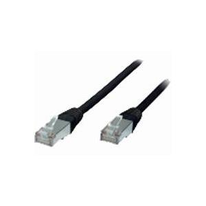 ShiverPeaks Helos - Patchkabel - RJ-45 (M) - RJ-45 (M) - 0.25 m - FTP-Kabel - (Kategorie 5e) - Schwarz (034195)