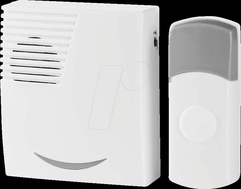 N DOORB111WT - Funk-Tuerklingel-Set Batteriebetrieben (DOORB111WT)