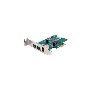 StarTech.com 3 Port 800+400 FireWire PCI Expres...