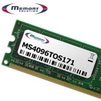MemorySolution - DDR3 4 GB SO DIMM 204-PIN 1066 MHz / PC3-8500 ungepuffert nicht-ECC für Toshiba Qosmio F60, Satellite C50, C55, Pro L650/00, L650/02, L650/042, L670/02 (PA3677U-1M4G) - broschei