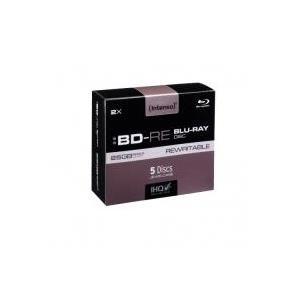 Intenso - 5 x BD-RE - 25GB 2x - Jewel Case (Schachtel) (52101215)