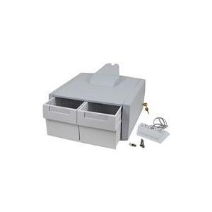 Ergotron StyleView Primary Double Tall Drawer - Montagekomponente (2 drawers module, drawer divider) für Medikation verriegelbar medizinisch Grau, weiß am Wagen montierbar (97-977) jetztbilligerkaufen