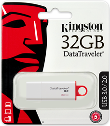 Kingston DataTraveler G4 (DTIG4/32GB) (Bild #1)