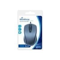MediaRange - Maus - optisch - 3 Tasten - verkabelt - USB (MROS201)