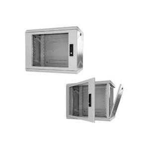 Schweitzertechnik Schweitzer EasyBox - Wandschrank Hellgrau, RAL 7035 12U (KS 912312) - broschei