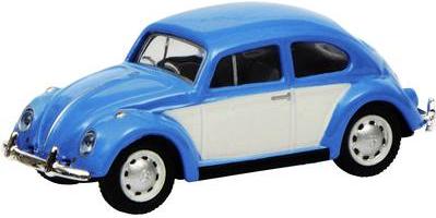 Schuco 452640200 H0 Volkswagen Käfer, blau weiß (452640200)