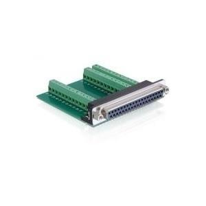 DeLock Adapter - Sub-D 37 Pin Buchse > Terminal...