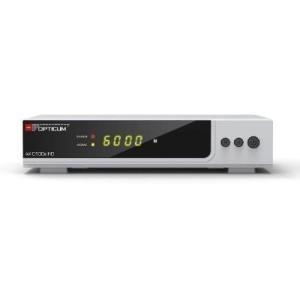TV, SAT Receiver - Opticum AX C100s HD DVB C Receiver Silber  - Onlineshop JACOB Elektronik