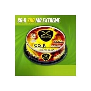 CD-R Extreme 700MB/80min 52xSpeed ??(Cakebox 25...