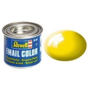 Revell Gelb - glänzend RAL 1018 14 ml-Dose Farbe Kunstharz Emaillelackierung Zinn (32112)