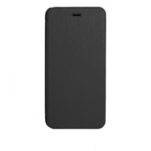 xqisit Folio Case Rana - Flip-Hülle für Mobiltelefon - Schwarz metallic - für Apple iPhone 6 Plus (18087)