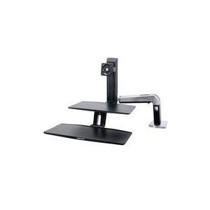 Ergotron Monitor-Tischhalterung 25,4cm (10 ) - 61,0cm (24 Neigbar+Schwenkbar, Rotierbar WorkFit-A jetztbilligerkaufen