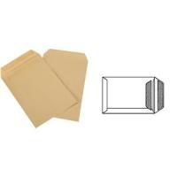 GPV Versandtaschen, C5, 162 x 229 mm, braun, Gewicht: 90 g selbstklebend, ohne Fenster (4250)