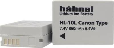 Hähnel HL-10L - Batterie - Li-Ion - 860 mAh - für Canon PowerShot G1 X, G15, G3 X, SX40 HS, SX50 HS, SX60 HS
