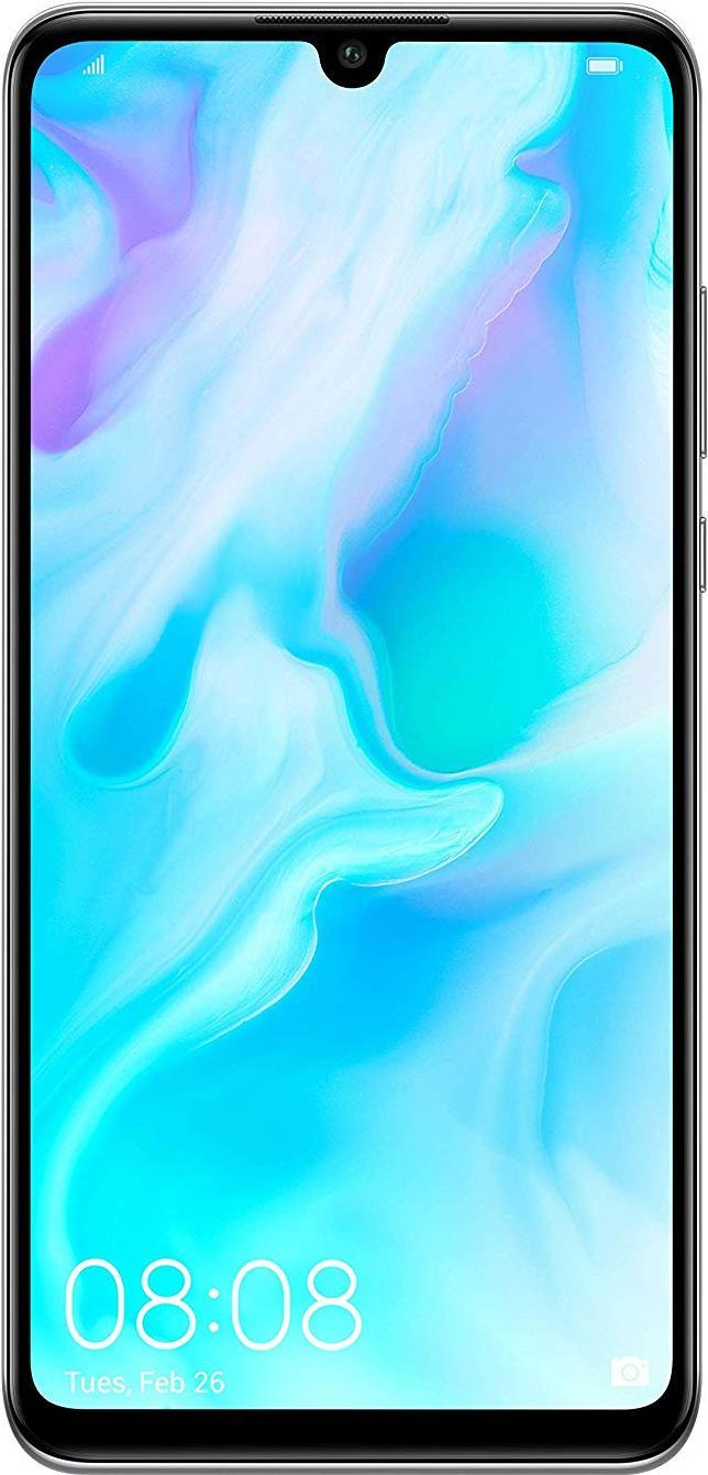 Image of Huawei P30 lite - Smartphone - Dual-SIM - 4G LTE - 128 GB - microSDXC slot - GSM - 6.15 - 2312 x 1080 Pixel (415 ppi (Pixel pro )) - LTPS - RAM 4 GB (24 MP Vorderkamera) - Triple-Kamera - Android - Pearl White - Sonderposten