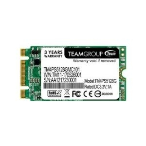 TEAM Group M.2 LITE TM4PS5 - SSD - 128 GB - intern - M.2 2242 - SATA 6Gb/s (TM4PS5128GMC101)