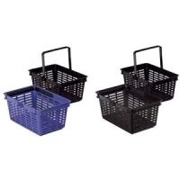 DURABLE Einkaufskorb SHOPPING BASKET 19, blau s...