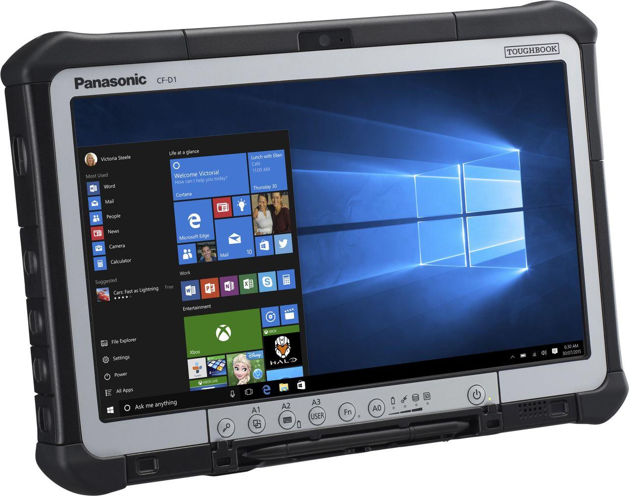 panasonic toughbook d1 tablet core i5 6300u 2 4 ghz cf d1nw111t3 rh jacob de