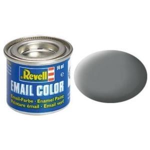 Revell Mausgrau - matt RAL 7005 14 ml-Dose Farbe Grau Kunstharz Emaillelackierung Zinn (32147)