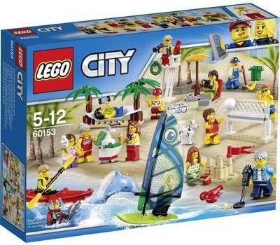 LEGO City 60153 Stadtbewohner Ein Tag am Strand (60153)