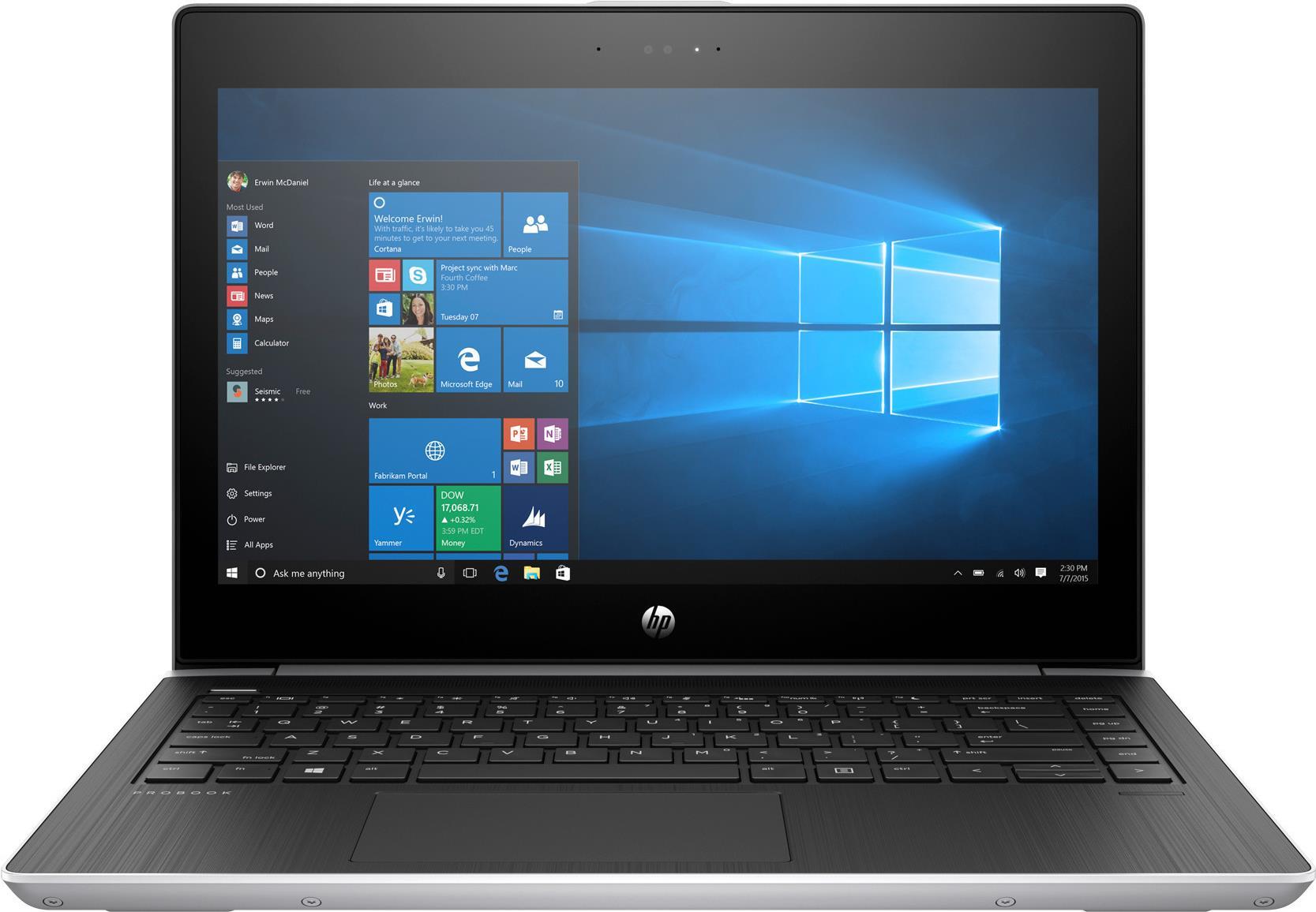 Notebooks, Laptops - HP ProBook 430 G5 Core i7 8550U 1.8 GHz Win 10 Pro 64 Bit 16 GB RAM 512 GB SSD NVMe, HP Turbo Drive, TLC 1 TB HDD 33.7 cm (13.3) IPS 1920 x 1080 (Full HD) UHD Graphics 620 Wi Fi, Bluetooth kbd Deutsch  - Onlineshop JACOB Elektronik