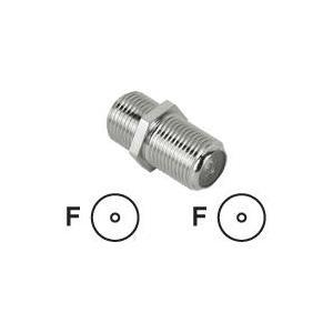 Hama - Antennenadapter - F-Stecker (W) - F-Stecker (W) - abgeschirmt (00047517)