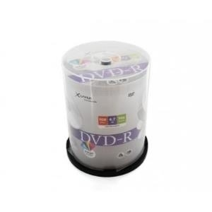 XLayer DVD-R 4.7GB 16x Inkjet white Full Surface 100er Cakebox (207673)