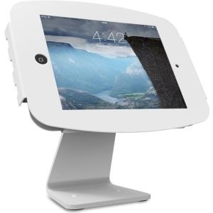 Compulocks iPad Secure Space Enclosure with Rotating 360° Kiosk White - Aufstellung für Tablett - Aluminium - weiß - für Apple iPad (3. Generation), iPad 2, iPad Air, iPad Air 2, iPad with Retina display