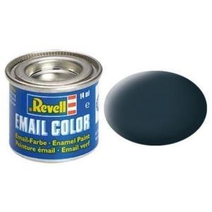 Revell Granitgrau - matt RAL 7026 14 ml-Dose Farbe Grau ml Kunstharz Emaillelackierung Zinn (32169)