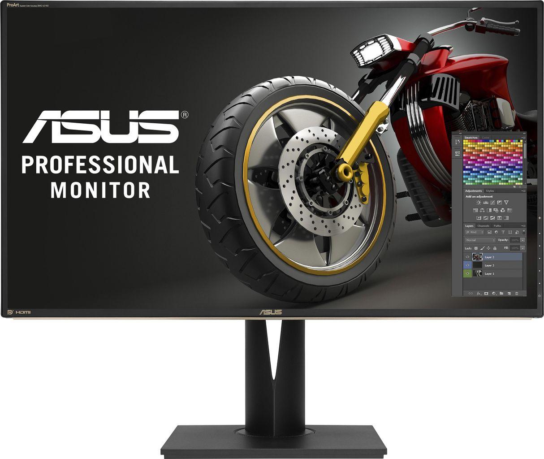 ASUS PA329Q - LCD-Monitor - 81,28 cm (32) - 3840 x 2160 - IPS - 350 cd/m2 - 1000:1 - 5 ms - 4xHDMI, DisplayPort, Mini DisplayPort - Lautsprecher - Schwarz (90LM02CC-B011370)