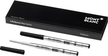 Montblanc Kugelschreibermine MYSTERY BLACK 116190 sw 2 St./Pack (116190)