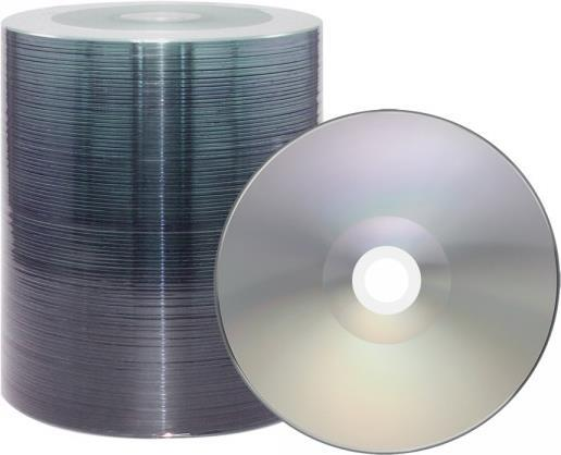 XLayer DVD-R 4.7GB XLayerEco 16x Shiny Silver Full Surface Full Metalized 100er Bulk (104617)