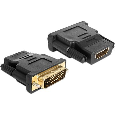 DeLOCK Adapter DVI 24+1 pin male > HDMI female (65466) (Bild #2)