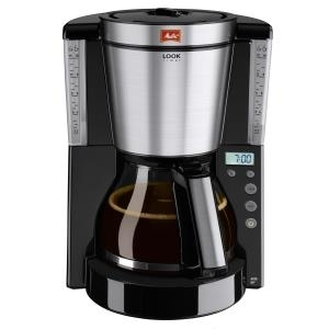 Kaffee, Tee - Melitta Look IV Timer Filterkaffeemaschine 1.25l 15Tassen Schwarz (6708047)  - Onlineshop JACOB Elektronik