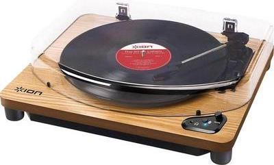 Plattenspieler, Turntables - ION Audio USB Plattenspieler AIR LP WD Riemenantrieb Holz (AIRLPWD)  - Onlineshop JACOB Elektronik