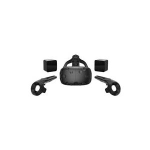 HTC Virtual Reality Brille Vive Schwarz (99HALN...