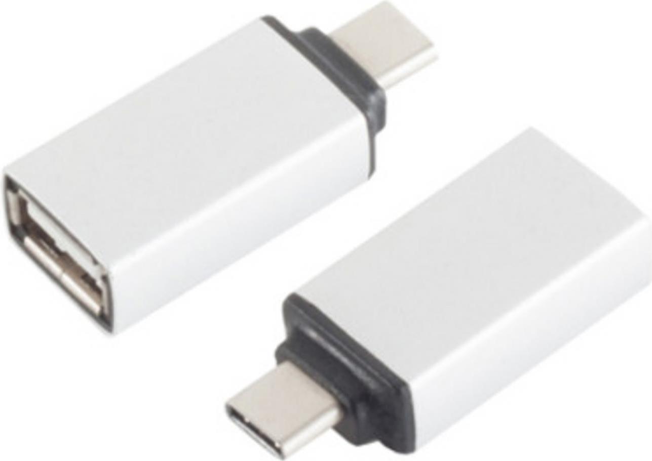 S-Conn 14-05016 USB 3.1 C USB 2.0 A Silber Kabelschnittstellen-/adapter (14-05016)