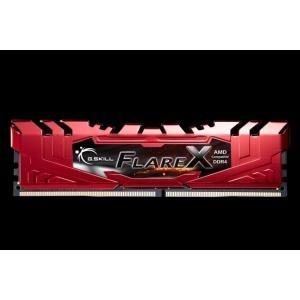 G.Skill Flare X series - DDR4 - 32 GB: 4 x 8 GB - DIMM 288-PIN - 2400 MHz / PC4-19200 - CL15 - 1.2 V - ungepuffert - nicht-ECC (F4-2400C15Q-32GFXR)
