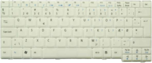 Acer - Ersatztastatur Notebook - US