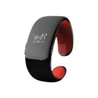 MyKronoz ZeBracelet2 - Intelligente Uhr - einfarbig - Bluetooth, Bluetooth - 36 g - Schwarz