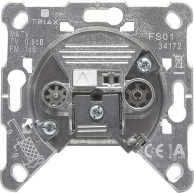 Triax Antennendose UKW, TV FS 01 Unterputz Enddose
