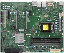Super Micro SUPERMICRO X11SCA - Motherboard - ATX - LGA1151 Socket - C246 - USB 3,1 Gen 1, USB-C Gen2, USB 3,1 Gen 2 - 2 x Gigabit LAN - Onboard-Grafik (CPU erforderlich) - HD Audio (MBD-X11SCA-O)