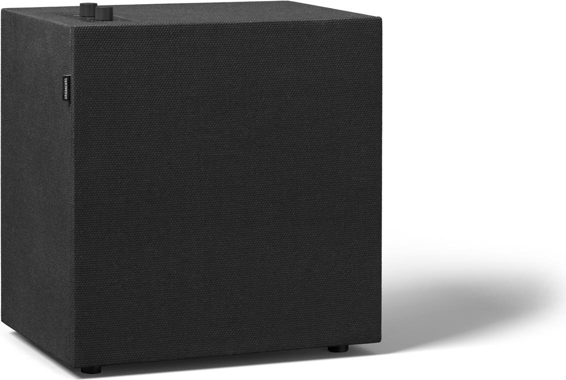 Lautsprecher - Urbanears Baggen Vinyl Black Multiroom Lautsprecher (WiFi, Bluetooth 4.2, AirPlay, Spotify Connect, 3.5mm Input) (04091930)  - Onlineshop JACOB Elektronik